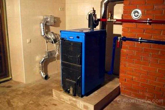 Газовый котел для отопления частного дома своими руками 52