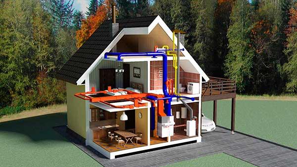 потребляемая мощность для отопления дома