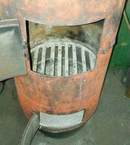 вертикальная печка