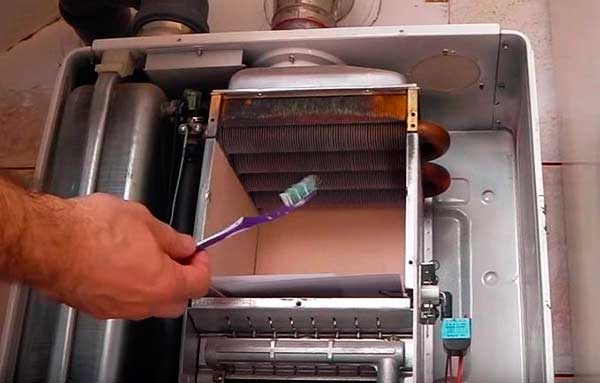 Как очистить от накипи теплообменник в газовом котле Уплотнения теплообменника Funke FP 16 Пушкин