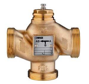 Как работает трехходовой кран в системе отопления