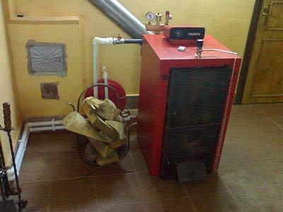 Расчет и подключение теплоаккумулятора для твердотопливного котла