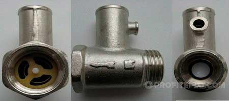 аварийный клапан для сброса давления