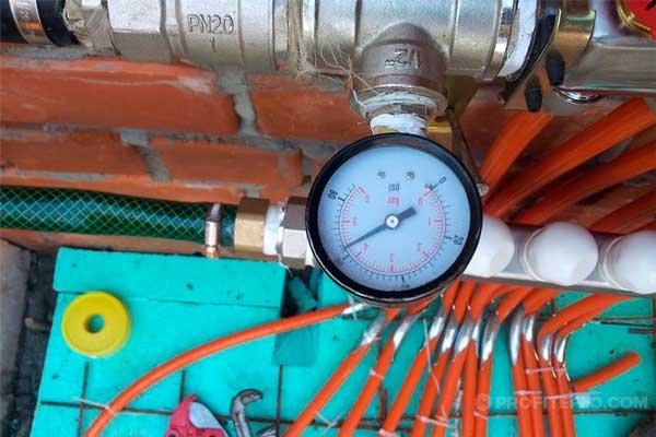 Какое давление должно быть в котле отопления