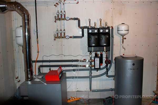 Схема подключения двухконтурных газовых котлов к системе отопления