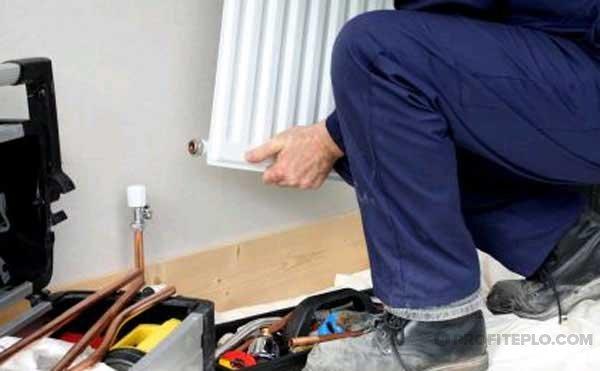 Как устранить течь в батарее отопления