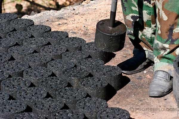 брикетирование угля в домашних условиях