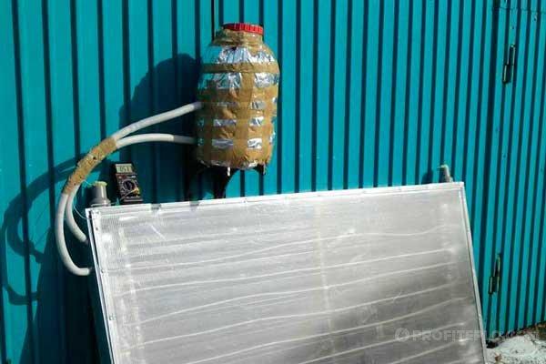 солнечный коллектор для отопления дома фото