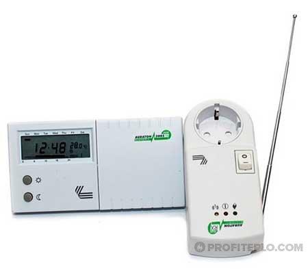 радиоуправляемий терморегулятор