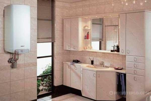 электрокотел в ванной комнате