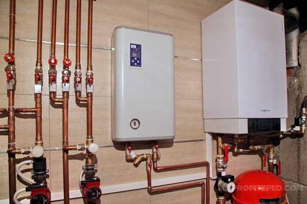 Как установить электрокотел в систему отопления