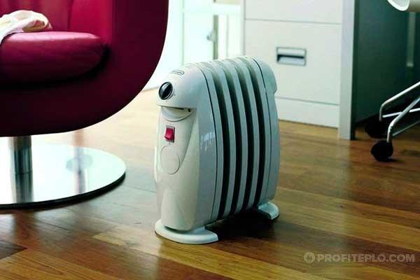 компактный масляный радиатор