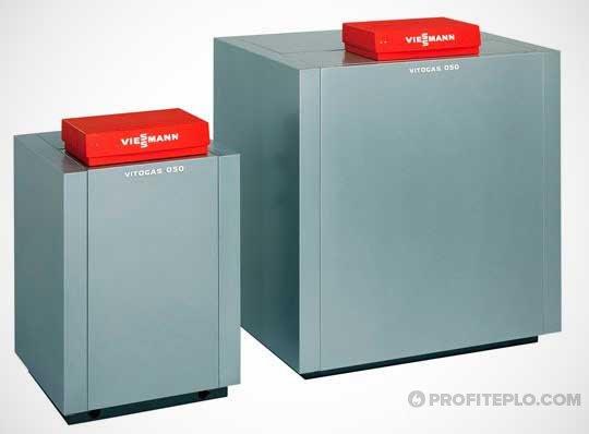 фото напольный газовый агрегат виссман