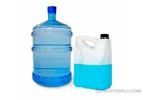 вода или антифриз