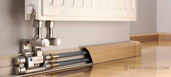 Электрические плинтуса для отопления дома