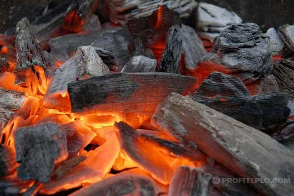 производство древесного угля в домашних условиях