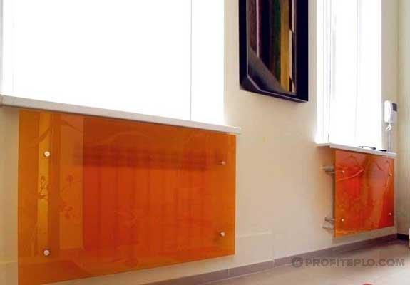 глянцевый стеклянный экран