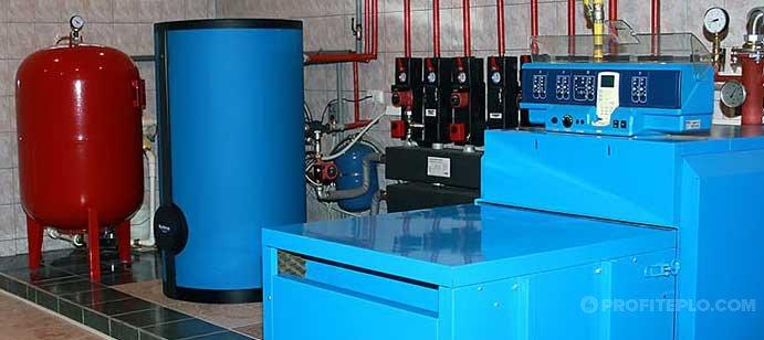 Мембранный расширительный бак для отопления и водоснабжения