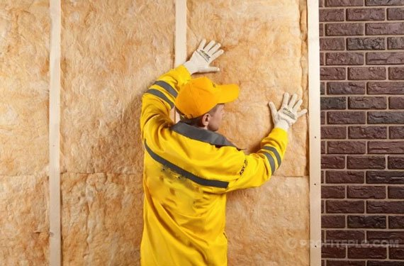 утепление кирпичных стен дома изнутри