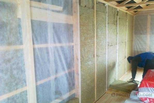 Инструкция по утеплению внутренних стен частного дома