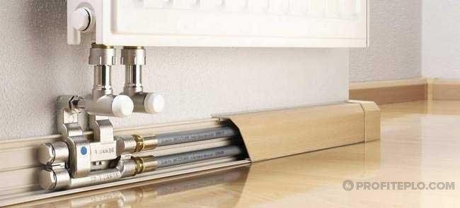 Как и чем закрыть трубы отопления: популярные способы