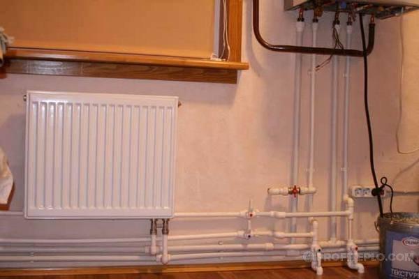 Делаем самостоятельно отопление в частном доме из полипропиленовых труб