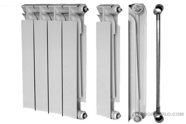Биметаллические радиаторы отопления: технические характеристики