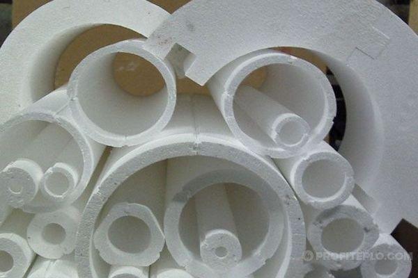 Теплоизоляция для труб отопления на открытом воздухе
