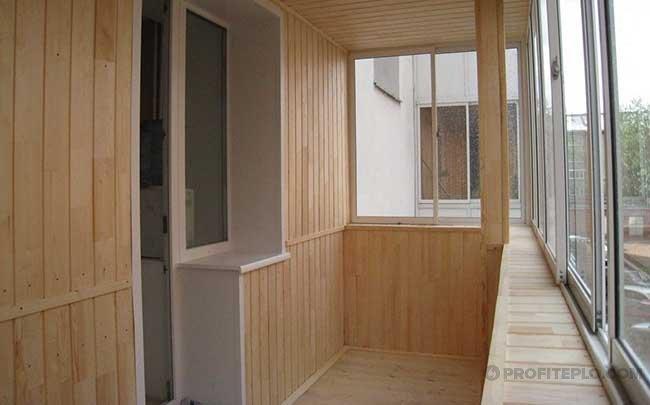выбор внутреннего утеплителя для балкона